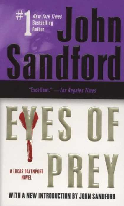 Bestselling Mystery/ Thriller (2008) - Eyes of Prey by John Sandford