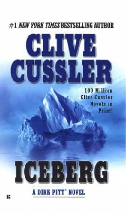 Bestselling Mystery/ Thriller (2008) - Iceberg (Dirk Pitt Adventure) by Clive Cussler