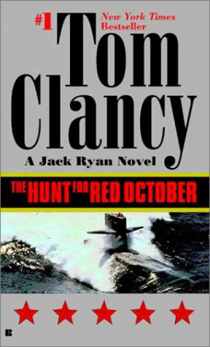Bestselling Mystery/ Thriller (2008) - The Hunt for Red October (Jack Ryan) by Tom Clancy
