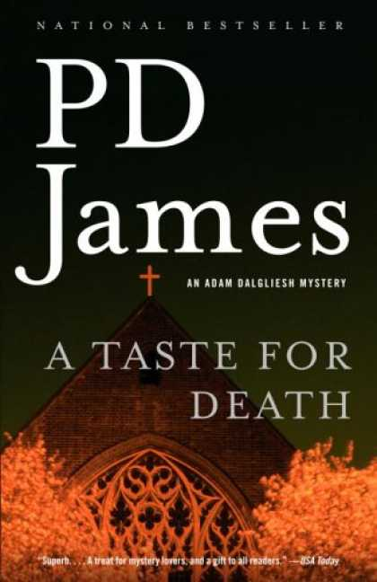 Bestselling Mystery/ Thriller (2008) - A Taste for Death (Adam Dalgliesh Mysteries, No. 7) by P.D. James