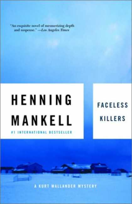 Bestselling Mystery/ Thriller (2008) - Faceless Killers by Henning Mankell