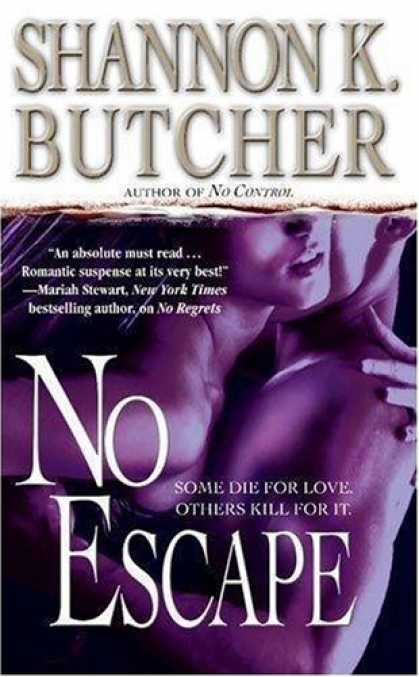 Bestselling Mystery/ Thriller (2008) - No Escape by Shannon K. Butcher