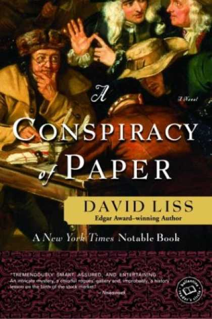 Bestselling Mystery/ Thriller (2008) - A Conspiracy of Paper: A Novel (Ballantine Reader's Circle) by David Liss