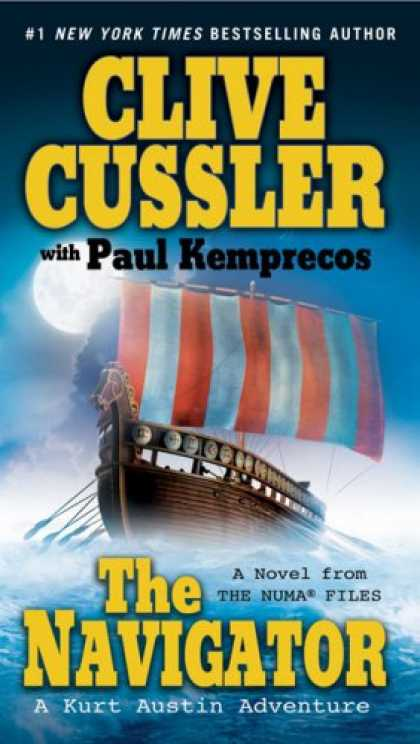 Bestselling Mystery/ Thriller (2008) - The Navigator (The Numa Files) by Clive Cussler