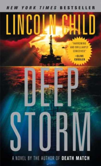 Bestselling Mystery/ Thriller (2008) - Deep Storm by Lincoln Child