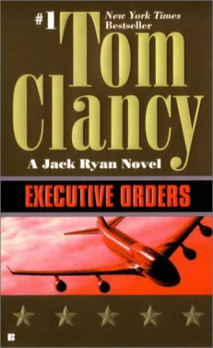 Bestselling Mystery/ Thriller (2008) - Executive Orders (Jack Ryan) by Tom Clancy