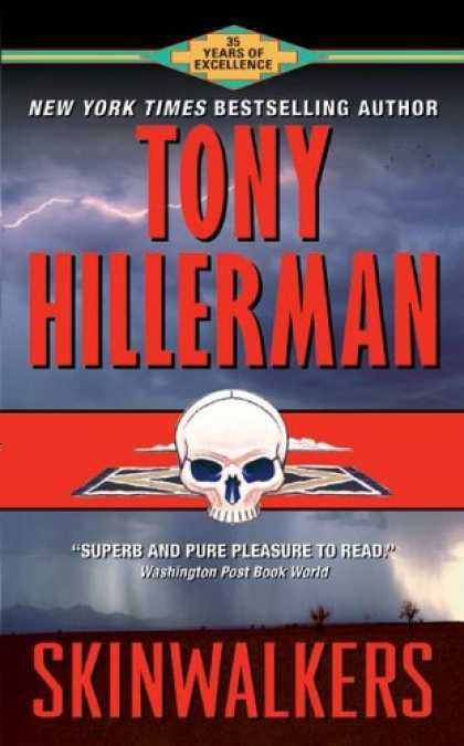 Bestselling Mystery/ Thriller (2008) - Skinwalkers (Joe Leaphorn/Jim Chee Novels) by Tony Hillerman