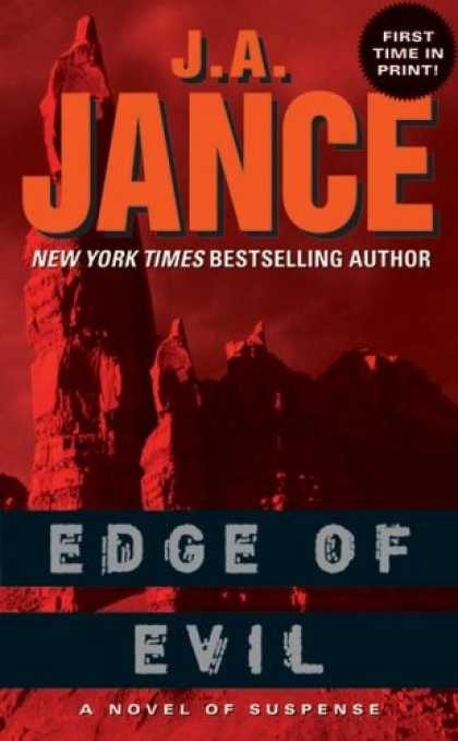 Bestselling Mystery/ Thriller (2008) - Edge of Evil by J. A. Jance