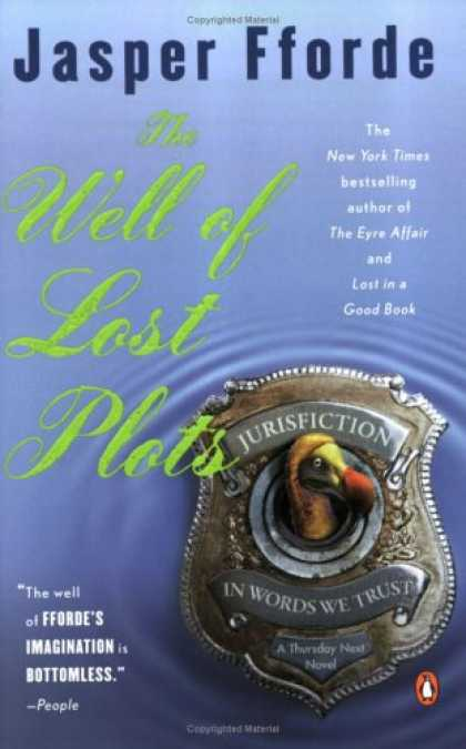 Bestselling Mystery/ Thriller (2008) - The Well of Lost Plots (Thursday Next Series) by Jasper Fforde