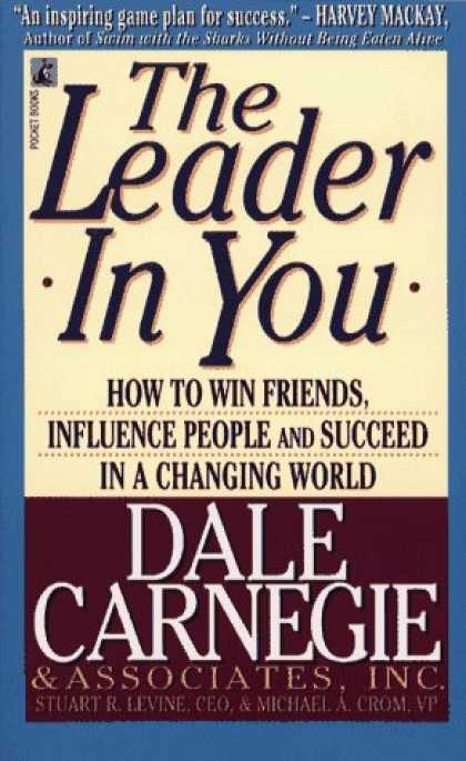Bestselling Mystery/ Thriller (2008) - The Leader in You by Dale Carnegie