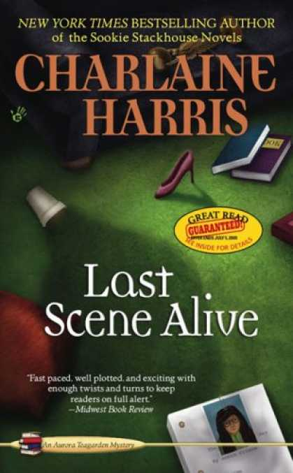 Bestselling Mystery/ Thriller (2008) - Last Scene Alive (Aurora Teagarden Mysteries, No. 7) by Charlaine Harris