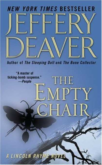 Bestselling Mystery/ Thriller (2008) - The Empty Chair (Lincoln Rhyme Novels) by Jeffery Deaver