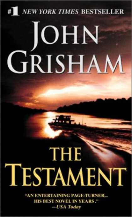 Bestselling Mystery/ Thriller (2008) - The Testament by John Grisham