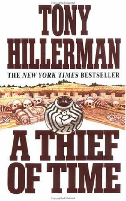 Bestselling Mystery/ Thriller (2008) - A Thief of Time (Joe Leaphorn/Jim Chee Novels) by Tony Hillerman