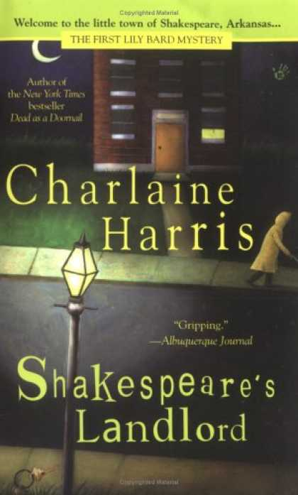 Bestselling Mystery/ Thriller (2008) - Shakespeare's Landlord (Lily Bard Mysteries, Book 1) by Charlaine Harris