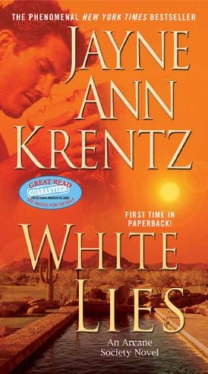 Bestselling Mystery/ Thriller (2008) - White Lies (The Arcane Society, Book 2) by Jayne Ann Krentz