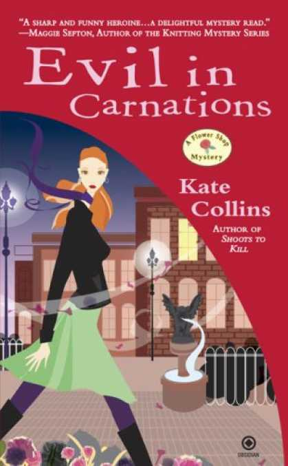 Bestselling Mystery/ Thriller (2008) - Evil in Carnations (Flower Shop Mysteries, No. 8) by Kate Collins