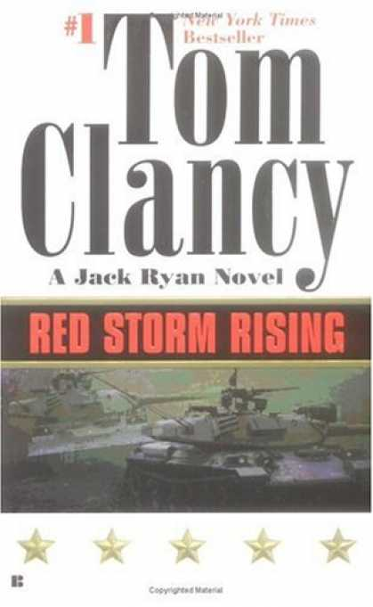 Bestselling Mystery/ Thriller (2008) - Red Storm Rising by Tom Clancy