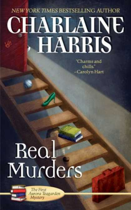 Bestselling Mystery/ Thriller (2008) - Real Murders (Aurora Teagarden Mysteries, Book 1) by Charlaine Harris