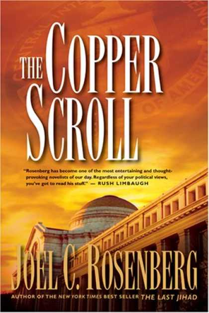 Bestselling Mystery/ Thriller (2008) - The Copper Scroll (Political Thrillers Series #4) by Joel C. Rosenberg
