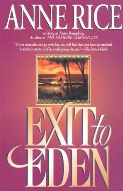 Bestselling Sci-Fi/ Fantasy (2006) - Exit to Eden by Anne Rampling