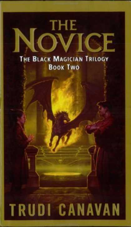Bestselling Sci-Fi/ Fantasy (2006) - The Novice (The Black Magician Trilogy, Book 2) by Trudi Canavan