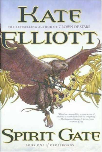 Bestselling Sci-Fi/ Fantasy (2006) - Spirit Gate: Book One of Crossroads by Kate Elliott