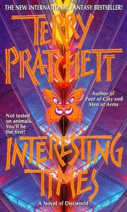 Bestselling Sci-Fi/ Fantasy (2006) - Interesting Times by Terry Pratchett
