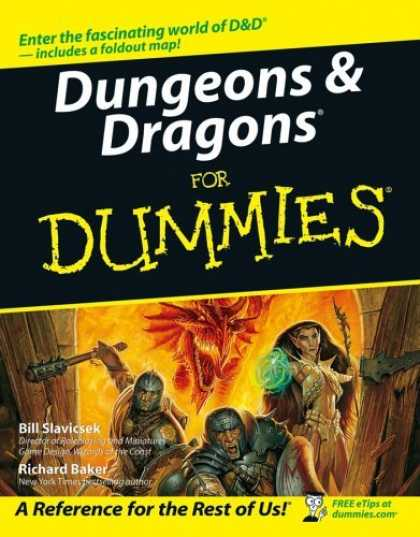 Bestselling Sci-Fi/ Fantasy (2006) - Dungeons & Dragons For Dummies by Bill Slavicsek