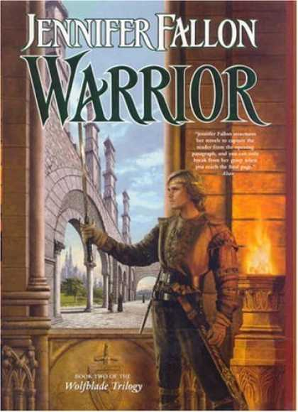 Bestselling Sci-Fi/ Fantasy (2006) - Warrior: Book Two of the Wolfblade Trilogy (The Hythrun Chronicles) by Jennifer