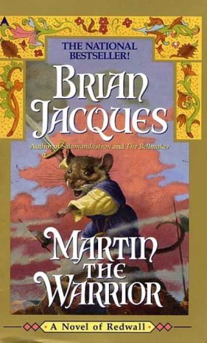 Bestselling Sci-Fi/ Fantasy (2006) - Martin the Warrior (Redwall, Book 6) by Brian Jacques