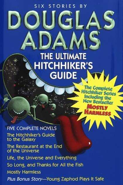 Bestselling Sci-Fi/ Fantasy (2006) - The Ultimate Hitchhiker's Guide by Douglas Adams