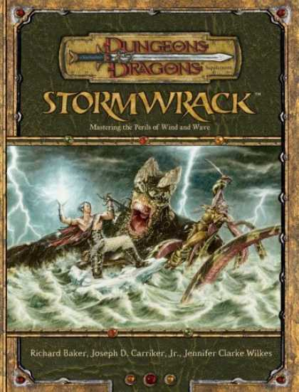 Bestselling Sci-Fi/ Fantasy (2006) - Stormwrack: Mastering the Perils of Wind and Wave (Dungeons & Dragons: Environme