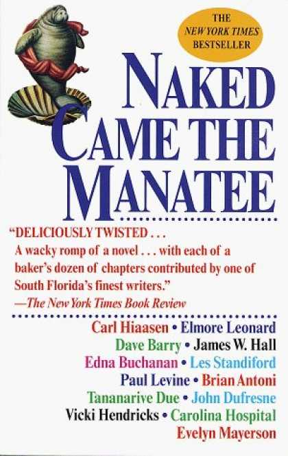 Bestselling Sci-Fi/ Fantasy (2006) - Naked Came the Manatee by Carl Hiaasen