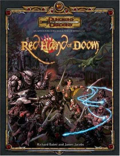 Bestselling Sci-Fi/ Fantasy (2006) - The Red Hand of Doom (D&D Accessory) by James Jacobs