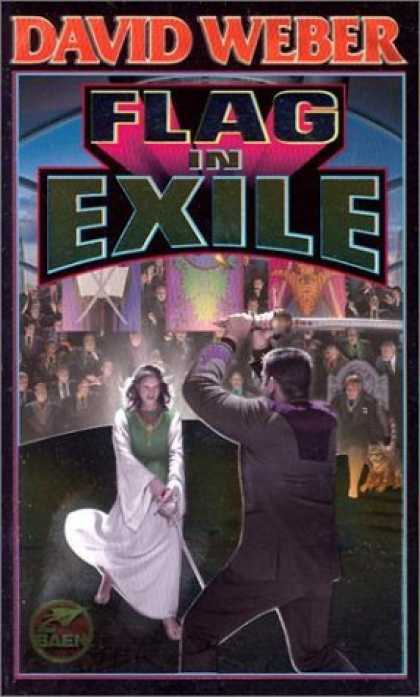 Bestselling Sci-Fi/ Fantasy (2006) - Flag in Exile (Honor Harrington (Paperback)) by David Weber
