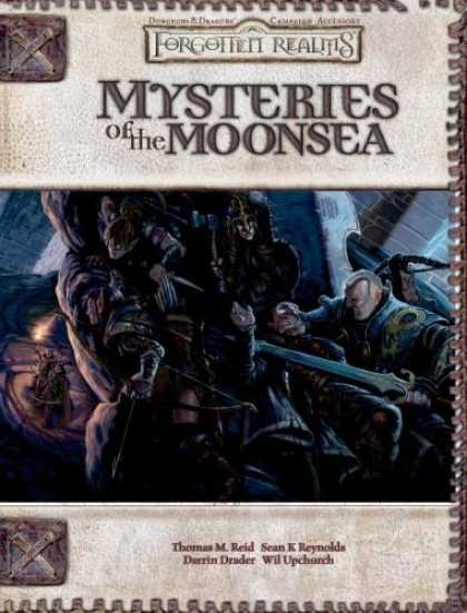 Bestselling Sci-Fi/ Fantasy (2006) - Mysteries of the Moonsea (Forgotten Realms Supplement) by Thomas Reid