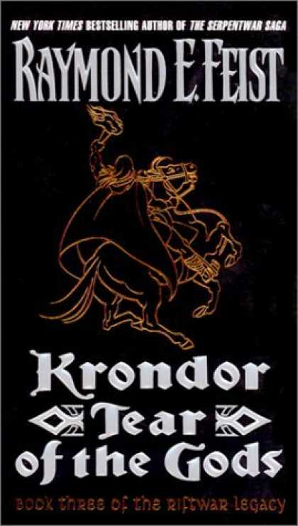 Bestselling Sci-Fi/ Fantasy (2006) - Krondor: Tear of the Gods (The Riftwar Legacy) by Raymond E. Feist