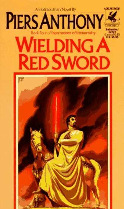 Bestselling Sci-Fi/ Fantasy (2006) - Wielding a Red Sword (Incarnations of Immortality) by Piers Anthony