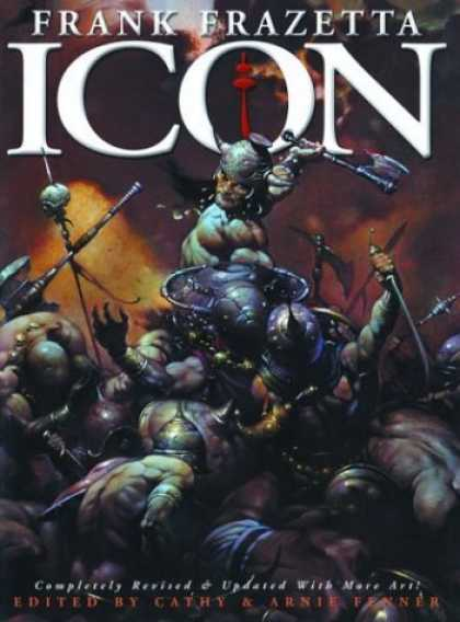 Bestselling Sci-Fi/ Fantasy (2006) - Icon: A Retrospective by the Grand Master of Fantastic Art by Frank Frazetta