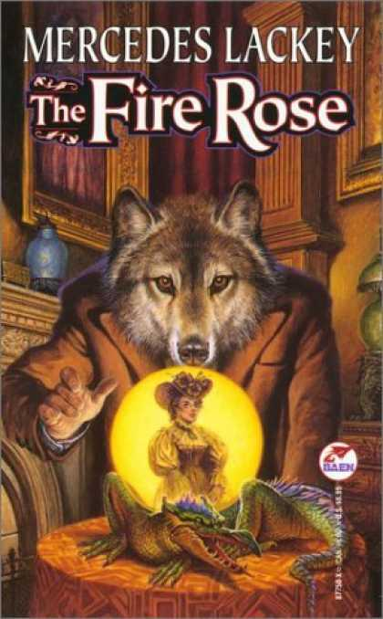 Bestselling Sci-Fi/ Fantasy (2006) - The Fire Rose by Mercedes Lackey