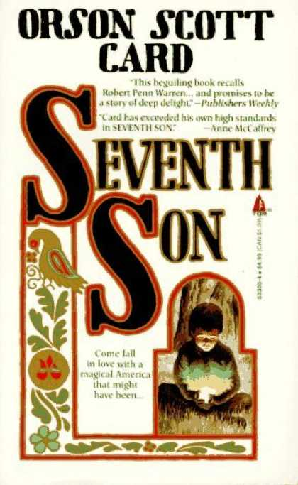 Bestselling Sci-Fi/ Fantasy (2006) - Seventh Son (Tales of Alvin Maker, Book 1) by Orson Scott Card