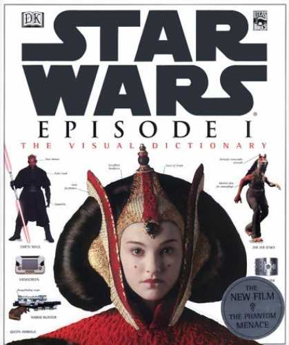 Bestselling Sci-Fi/ Fantasy (2006) - The Visual Dictionary of Star Wars, Episode I - The Phantom Menace by David Rey