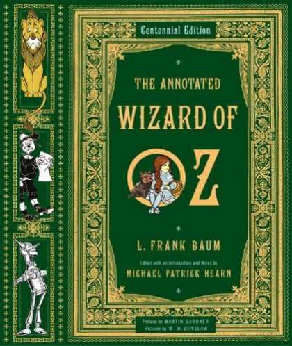 Bestselling Sci-Fi/ Fantasy (2006) - The Annotated Wizard of Oz (Centennial Edition) by L. Frank Baum