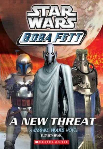 Bestselling Sci-Fi/ Fantasy (2006) - A New Threat (Star Wars: Boba Fett, Book 5) by Elizabeth Hand