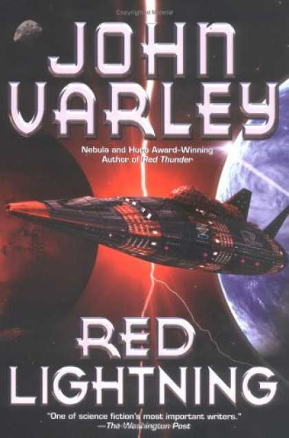 Bestselling Sci-Fi/ Fantasy (2006) - Red Lightning by John Varley