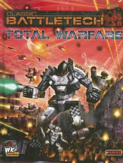Bestselling Sci-Fi/ Fantasy (2006) - Cbt Total Warfare (Classic Battletech) by Randall Bills