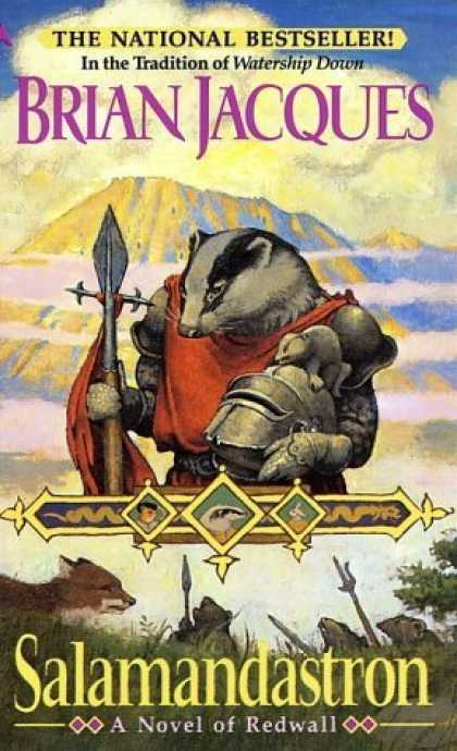 Bestselling Sci-Fi/ Fantasy (2006) - Salamandastron (Redwall (Ace Paperback)) by Brian Jacques