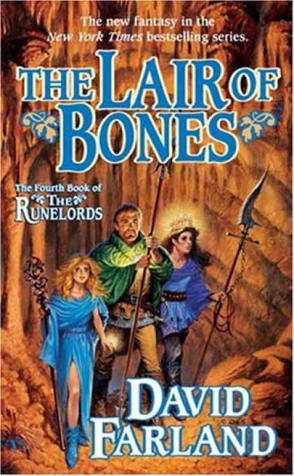 Bestselling Sci-Fi/ Fantasy (2006) - The Lair of Bones (Runelords) by David Farland