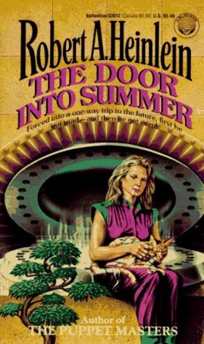 Bestselling Sci-Fi/ Fantasy (2006) - The Door into Summer by Robert A. Heinlein